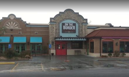 """Two live, frisky adult cockroaches and one live baby cockroach on the wall"" On the Border Mexican Grill & Cantina bombs state inspection"