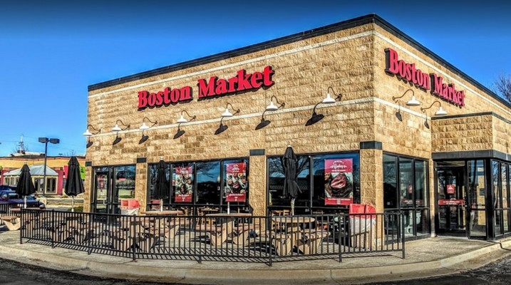 Live roaches found during inspection of Overland Park Boston Market, 4 violations