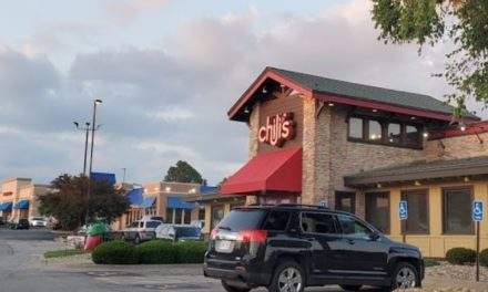 Chili's in Merriam fails restaurant inspection; clean dishes with visible accumulations of dried on food debris, employee handles dirty dishes and then clean dishes without washing