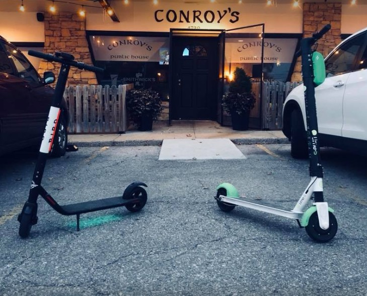 Conroy's Public House in Westwood bumbles inspection; Can opener had dry food debris on the blade that comes in direct contact with food